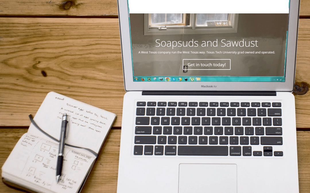 Soapsuds & Sawdust: New Website